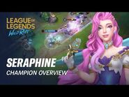 Seraphine Champion Overview - Gameplay - League of Legends- Wild Rift