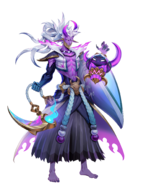 Spirit Bonds Model Thresh Half Human Sad