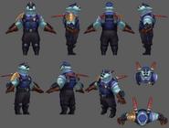 Volibear Update Captain Model 01