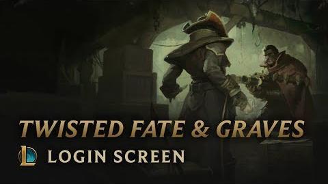 Graves i Twisted Fate - ekran logowania