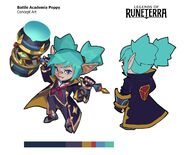 Poppy BattleAcademia LoR Concept 03