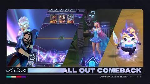 K DA ALL OUT Comeback Official Event Teaser - Riot Games