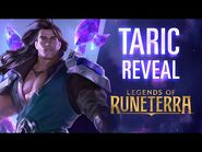 Taric Reveal - New Champion - Legends of Runeterra