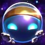 Astronauten-Bard Chroma Beschwörersymbol