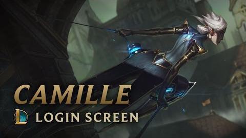 Camille - ekran logowania