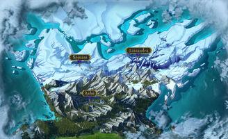 Freljord Karte alt