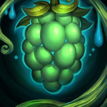 A portrait of a Honeyfruit.