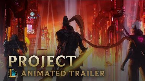 Overdrive PROJECT Animated Trailer - League of Legends