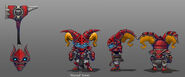 Poppy Scarlet Hammer concept
