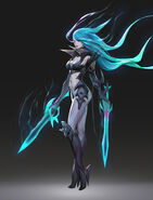 Katarina DeathSworn Concept 02