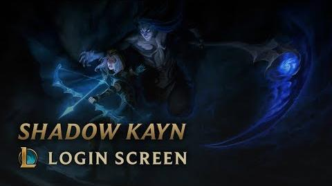 Shadow Kayn - Login Screen