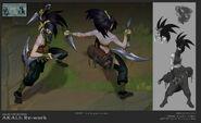 Akali Update concept 07