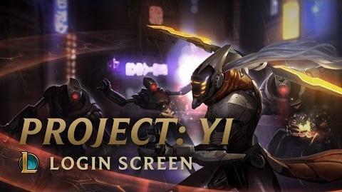 PROJECT Yi - Login Screen