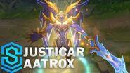 Justikar-Aatrox - Skin-Spotlight
