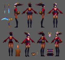 Akali Update Blutmond Model 04