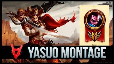 Yasuo Arkadata Montage - Best Yasuo 1 Million Mastery Points