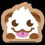 Poro sticker smile