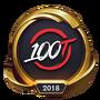 Worlds 2018 100 Thieves (Gold) Emote