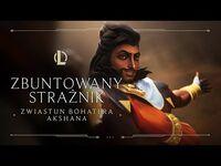 Akshan, Zbuntowany Strażnik - Zwiastun bohatera