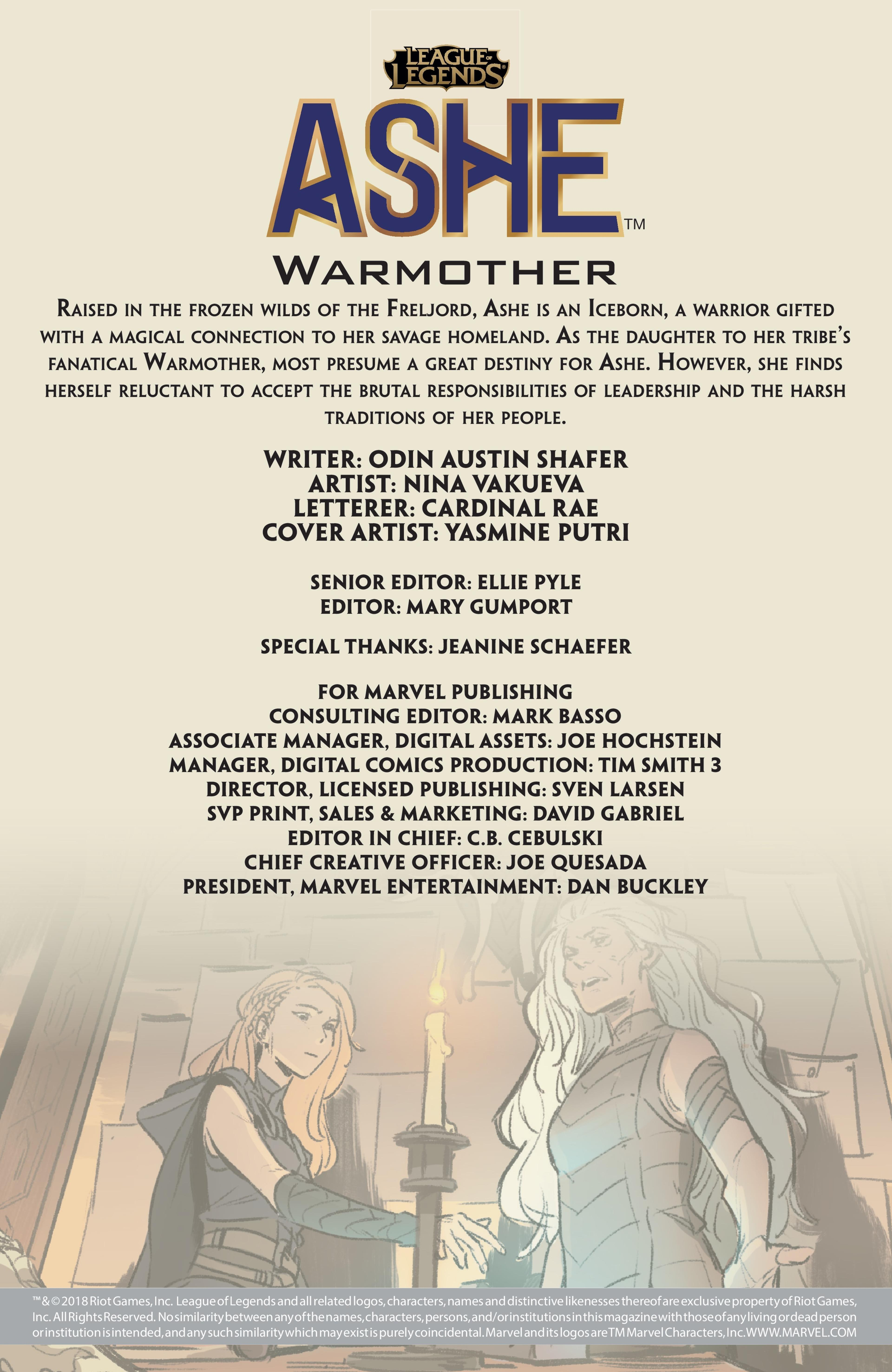 Warmother: Issue 1