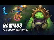 Rammus Champion Overview - Gameplay - League of Legends- Wild Rift