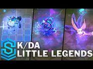 K-DA ALL OUT & POP-STARS Little Legends - Featherknight, Furyhorn, Squink, Hustail & LightCharger