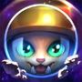 Astronauten-Gnar Chroma Beschwörersymbol
