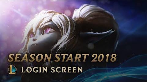 Oczekiwanie (Sezon 2018) - ekran logowania