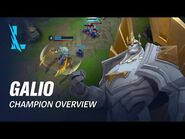 Galio Champion Overview - Gameplay - League of Legends- Wild Rift
