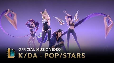 K DA - POP STARS (ft Madison Beer, (G)I-DLE, Jaira Burns) Official Music Video - League of Legends