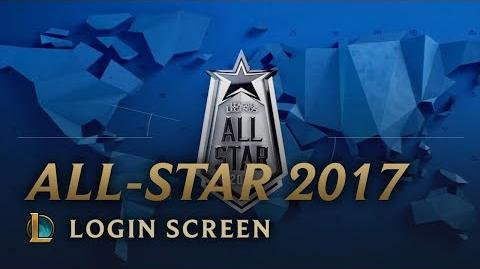 All-Star 2017 - Login Screen