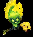 Amumu Infernal (Emerald)
