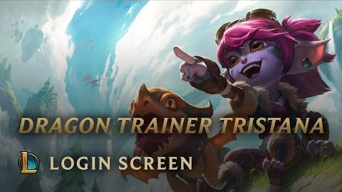 Dragon Trainer Tristana Login Screen - League of Legends