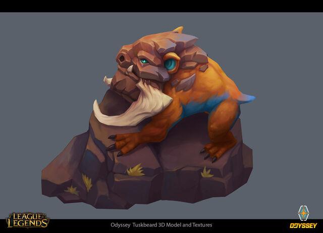 Odyssey Tuskbeard concept 01
