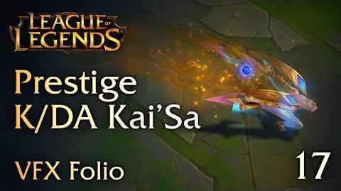 VFX Folio Prestige K DA Kai'Sa