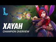 Xayah Champion Overview - Gameplay - League of Legends- Wild Rift