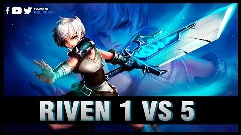 Epic Riven 1 v 5 Pentakills Compilations - Best Riven Plays