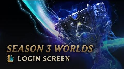 Season 3 Worlds - Login Screen