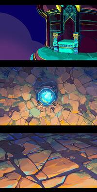 Worlds 2016 Zedd - Ignite Background Concept 01