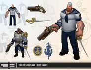 Gangplank Update Sailor Concept 01