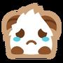 Poro sticker sad