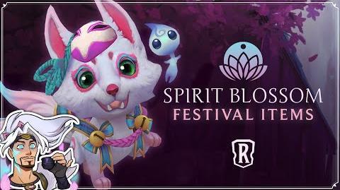 Spirit Blossom Festival Cosmetic Trailer - Legends of Runeterra