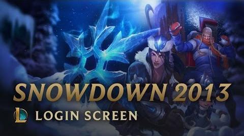 Snowdown Showdown 2013 - ekran logowania