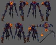 Fiddlesticks Update Pumpkinhead Model 01