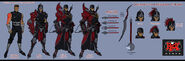 Noxus Assassin Concept 03