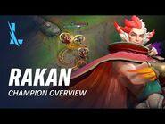 Rakan Champion Overview - Gameplay - League of Legends- Wild Rift