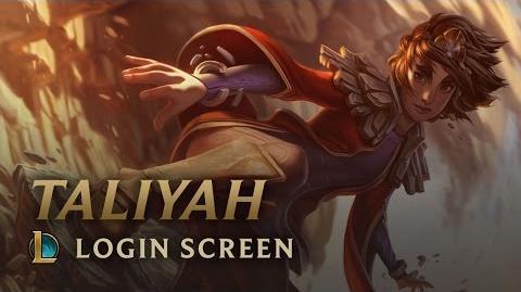 Taliyah - ekran logowania