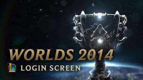 Mistrzostwa Świata Sezonu 2014 - ekran logowania