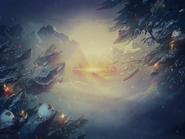 Winter Summoner's Rift background
