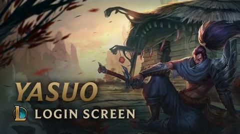 Yasuo, the Unforgiven - Login Screen
